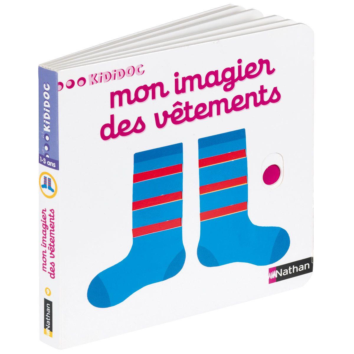 Livre Mon Imagier Des Vetements Kididoc Jeux Eveil Oxybul