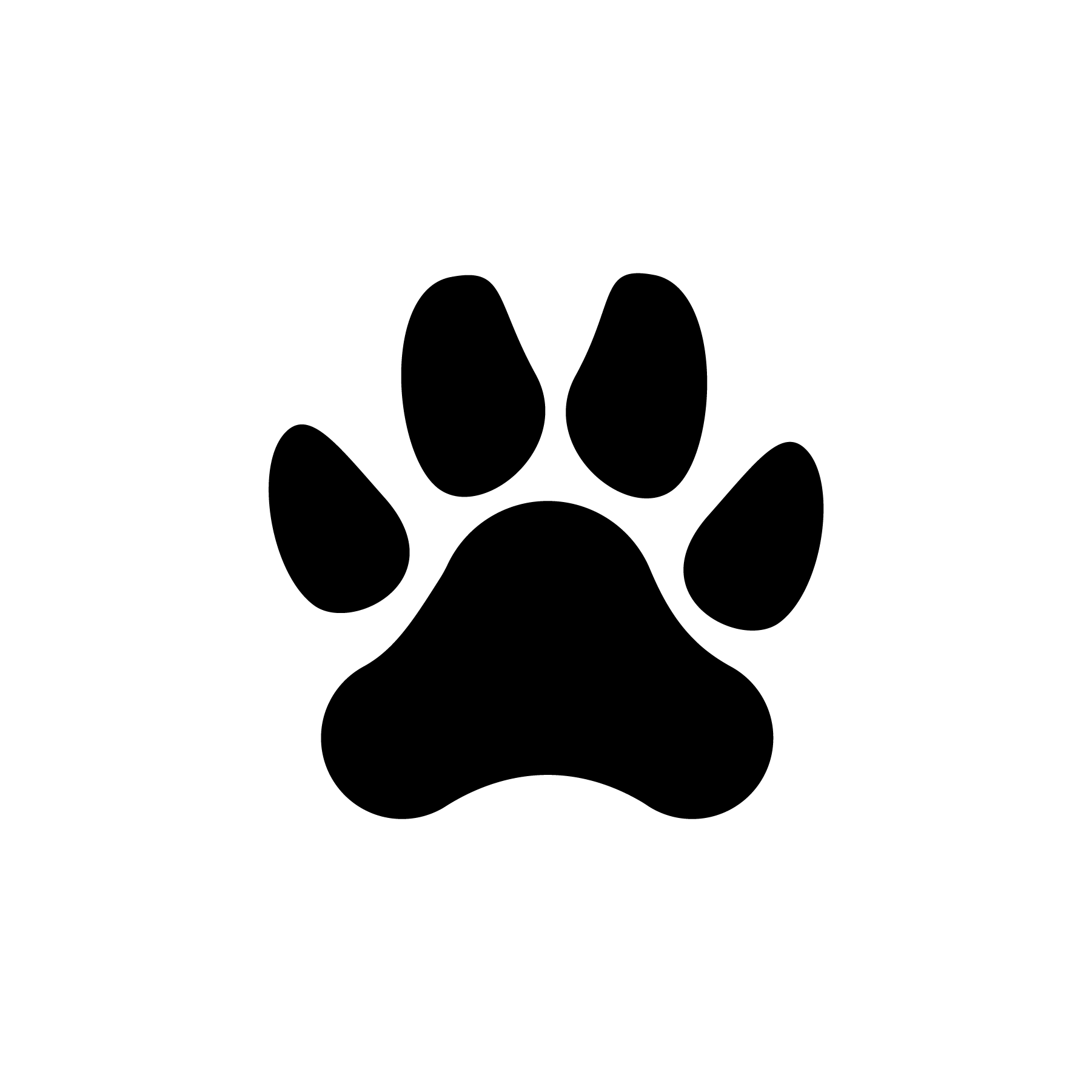 Dog Paw Print Icons Jessicabarrondesigns Design Graphicdesign Icon Icondesign Adobeillustrator Ai Footprint Pa Dog Paw Print Dog Illustration Art Day