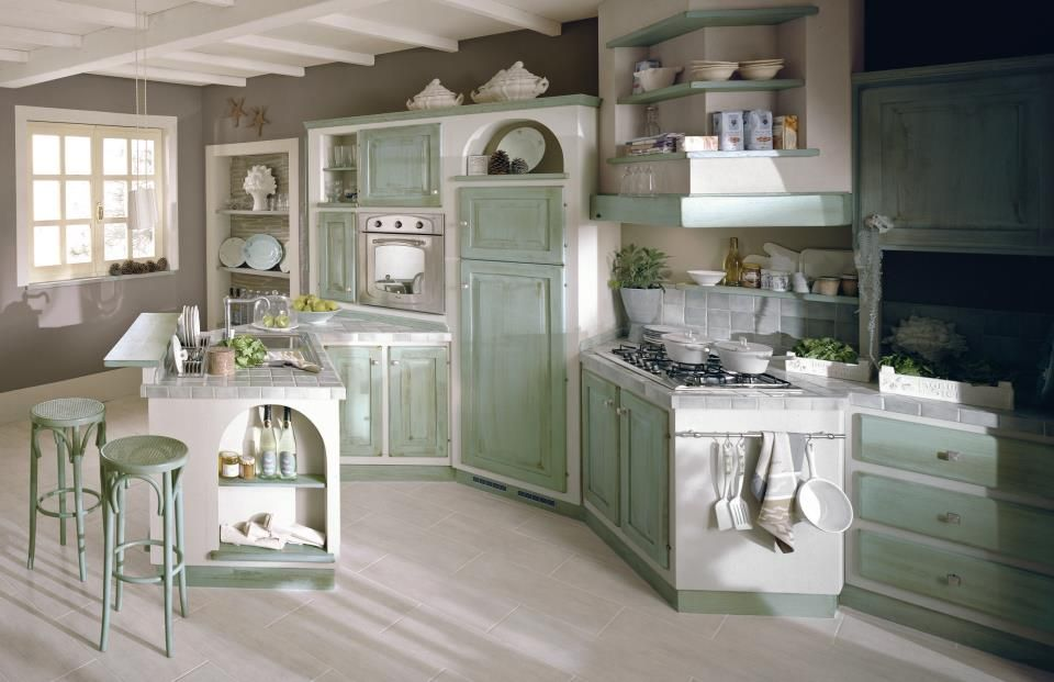 progetti cucine in muratura - Cerca con Google | кухня | Pinterest ...