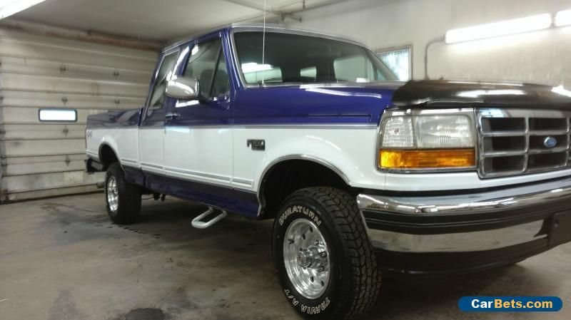 1995 Ford F 150 Xlt Extended Cab Pickup 2 Door Ford F150