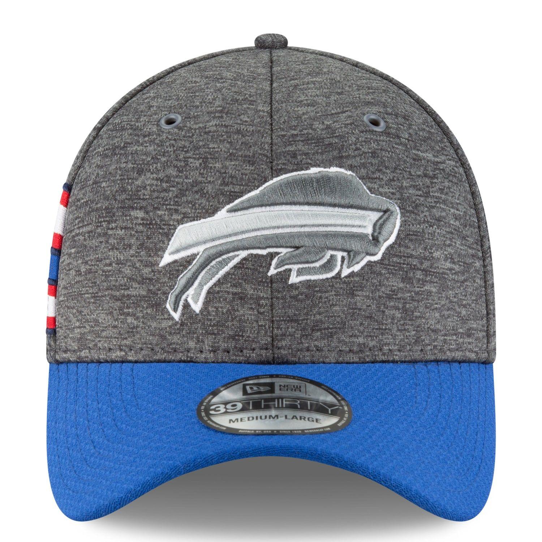 27229ca6 Adult New Era Buffalo Bills Sideline Home Official 39THIRTY Flex-Fit ...