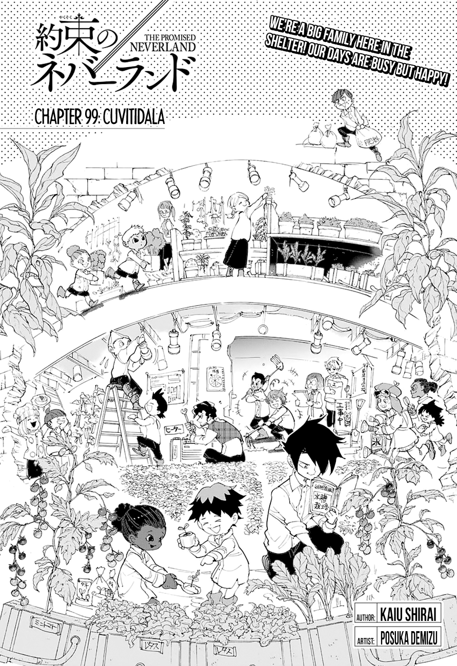The Promised Neverland 099 Page 7 Manga Stream (With