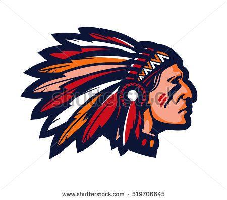 bildresultat f r old school indian chief head drawings art rh pinterest com Spokane Chiefs Hockey Club Indiana Hockey Logo