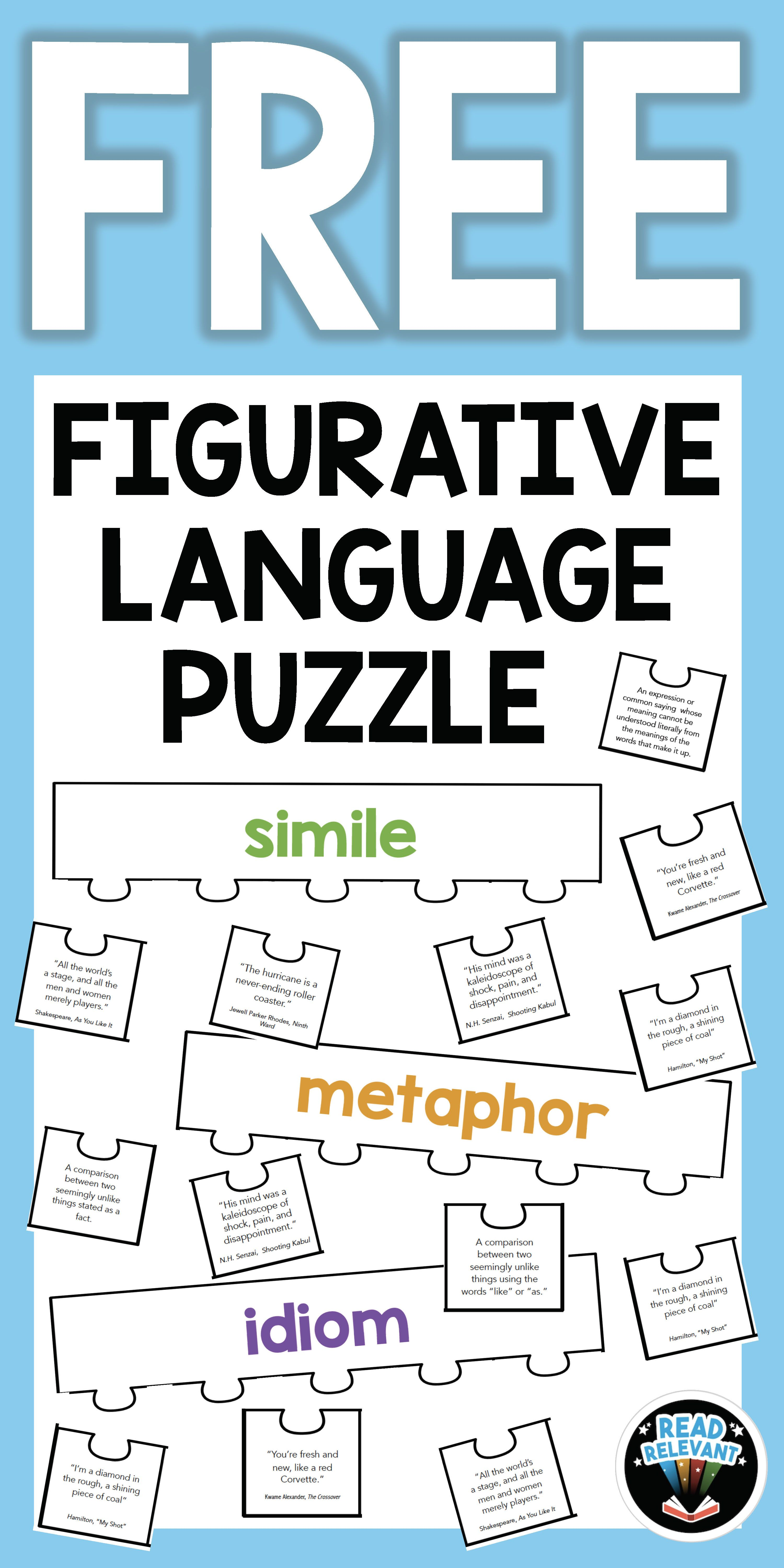 Help Your Students Master Figurative Language With This
