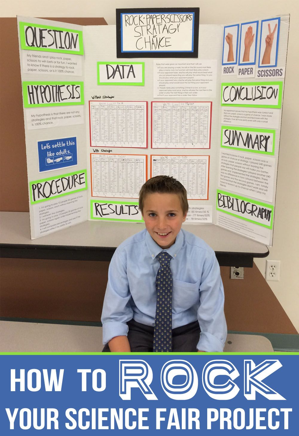 How to Rock your Science Fair Project   Cool science fair ...