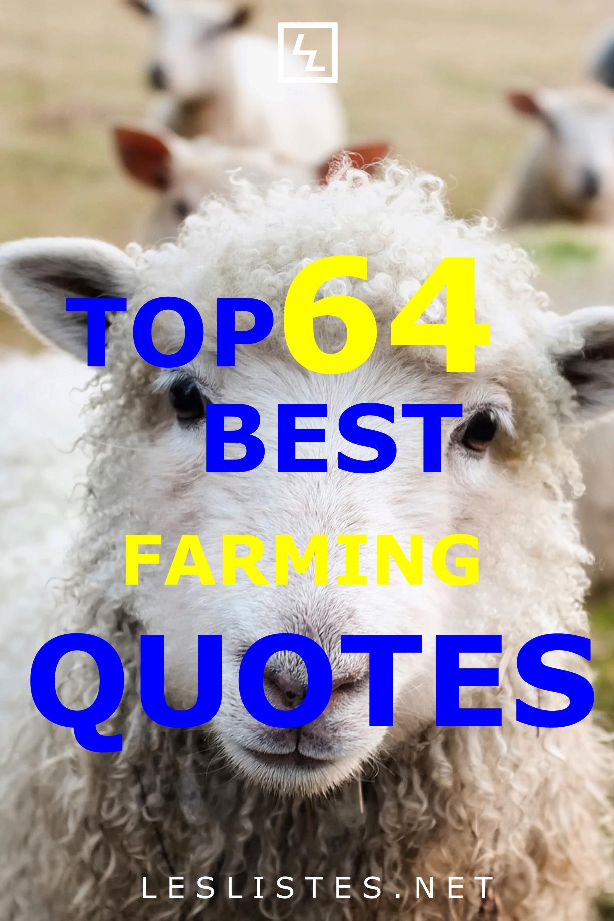 Top 64 Farming Quotes That You Should Know (avec images)