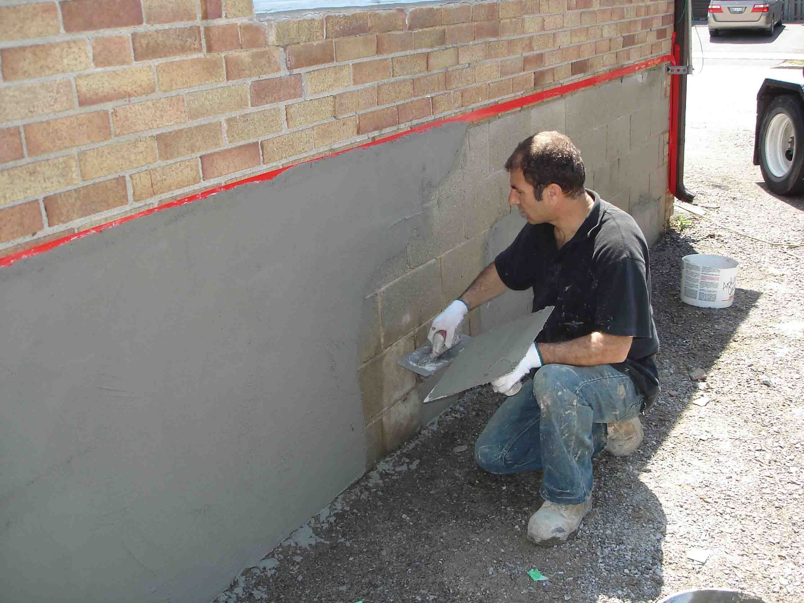 Toronto Stucco Eifs Moulding Parging Reapairs Masonry Wall House Foundation Exterior Insulation