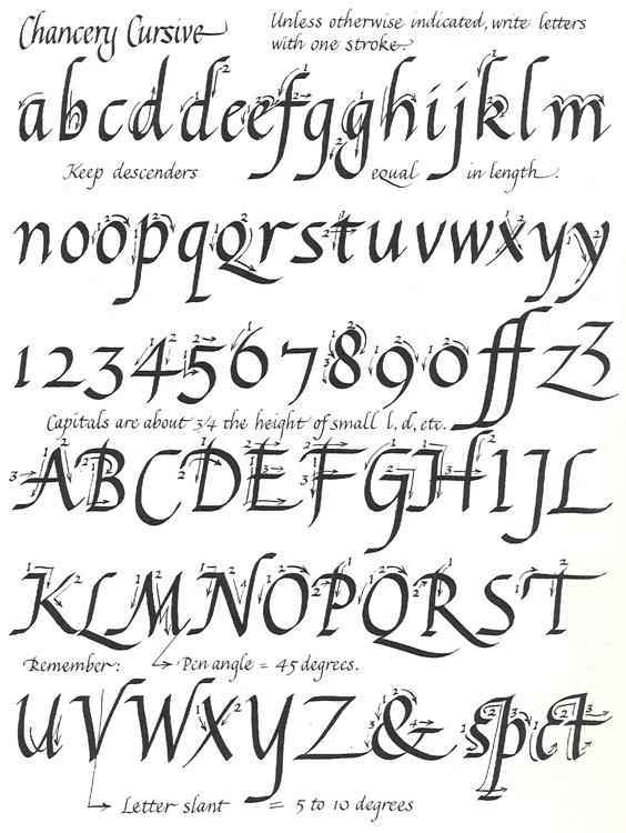 Free Printable Calligraphy Letters | Best Calligraphy letters ...