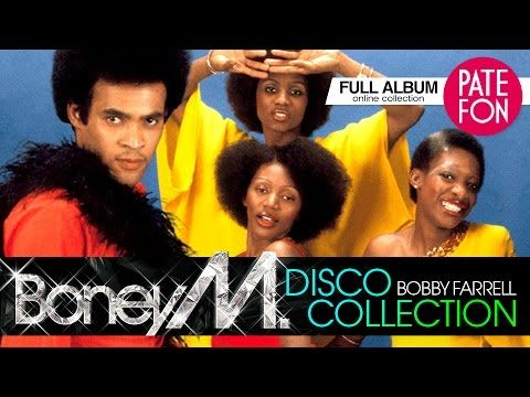 Boney M Bobby Farrell Disco Collection Full Album Boney M Disco Album