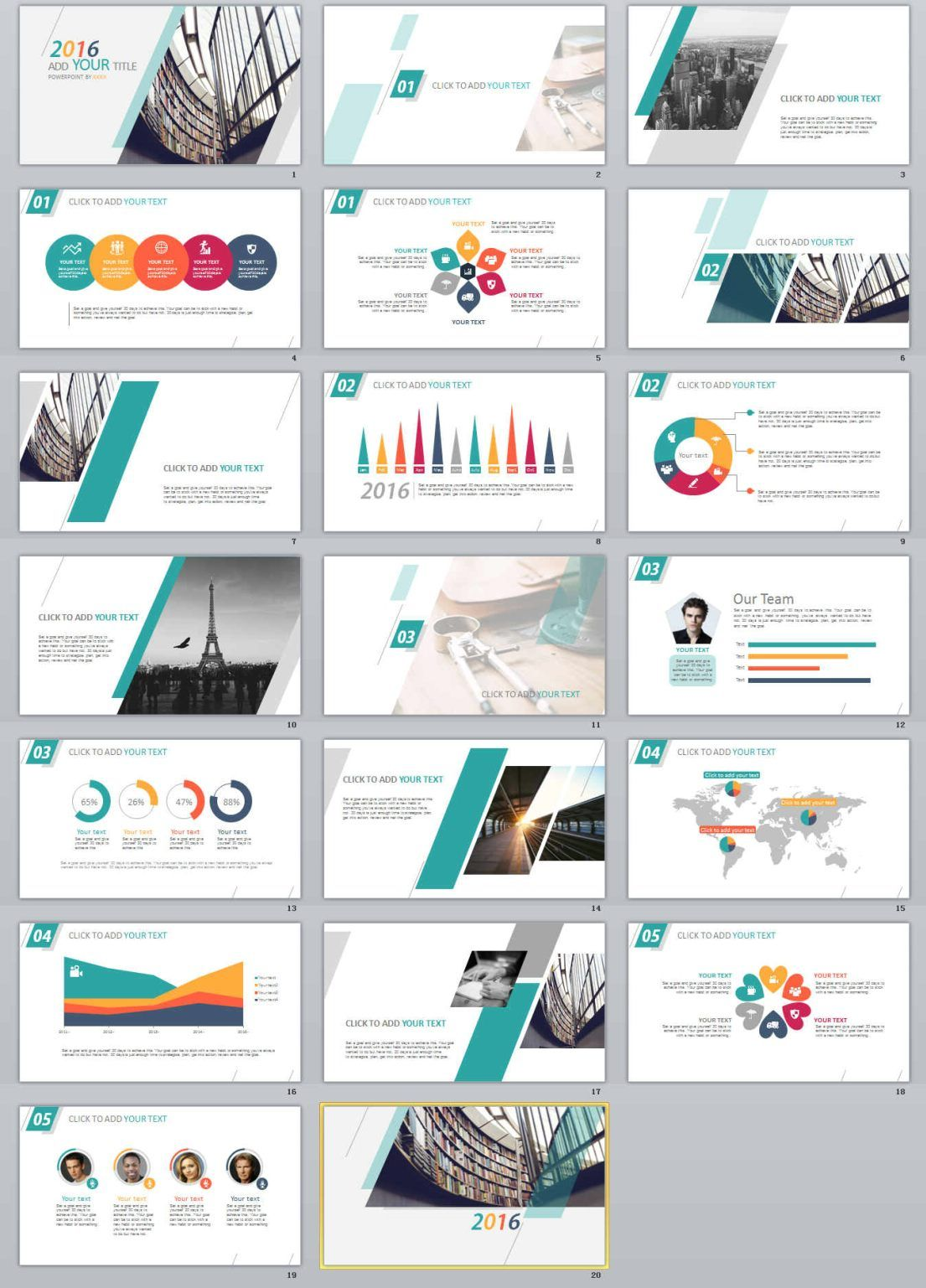 20 simple report powerpoint template a class pinterest