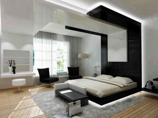 feng shui einrichten schlafzimmer bett led beleuchtung - feng shui schlafzimmer bett
