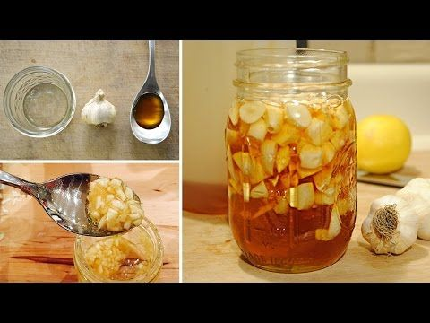 Garlic Syrup Recipe for Respiratory Infections and Colds! - YouTube