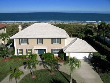 Florida Vero Beach House Rental Atlantic Ocean In Back Villa