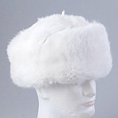 Real Russian White Ushanka Hat - Russian Hats 69845c23cbe