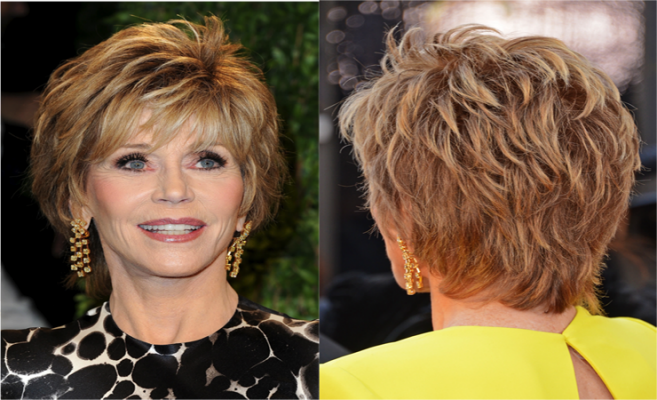 Jane Fonda Hair Styles: Pictures Jane Fonda Hairstyle Haircut