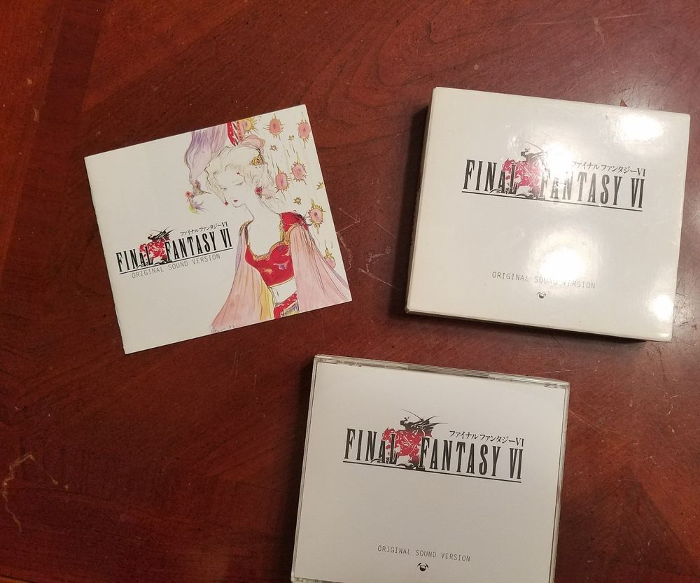 Final Fantasy Vi Original Sound Version Import By Nobuo Uematsu Jan 2001 P Final Fantasy Vi Final Fantasy The Originals