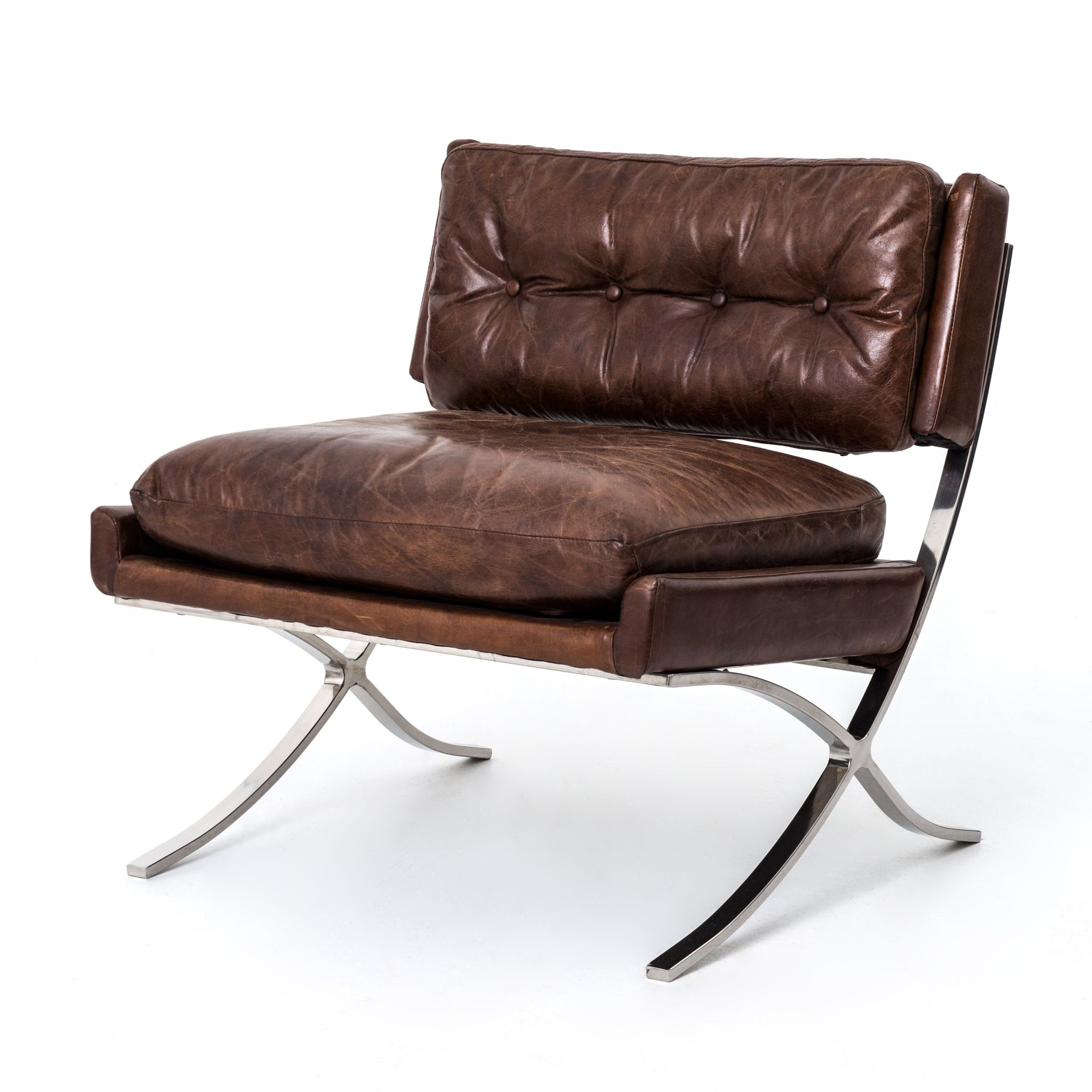 An Update To A Classic Mid Century Modern Chair Features An