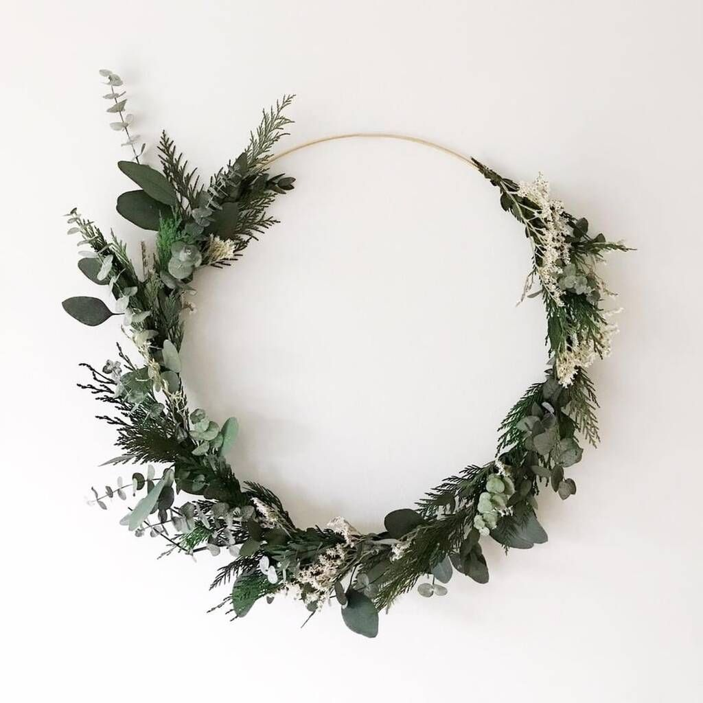 Photo of Indoor Wreath Making Preserved Foliage Letterbox