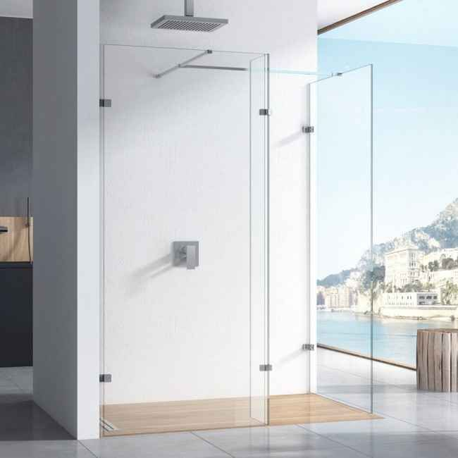 Harbour i10 10mm 2m Tall Easy Clean No-Profile Wetroom 2 ...