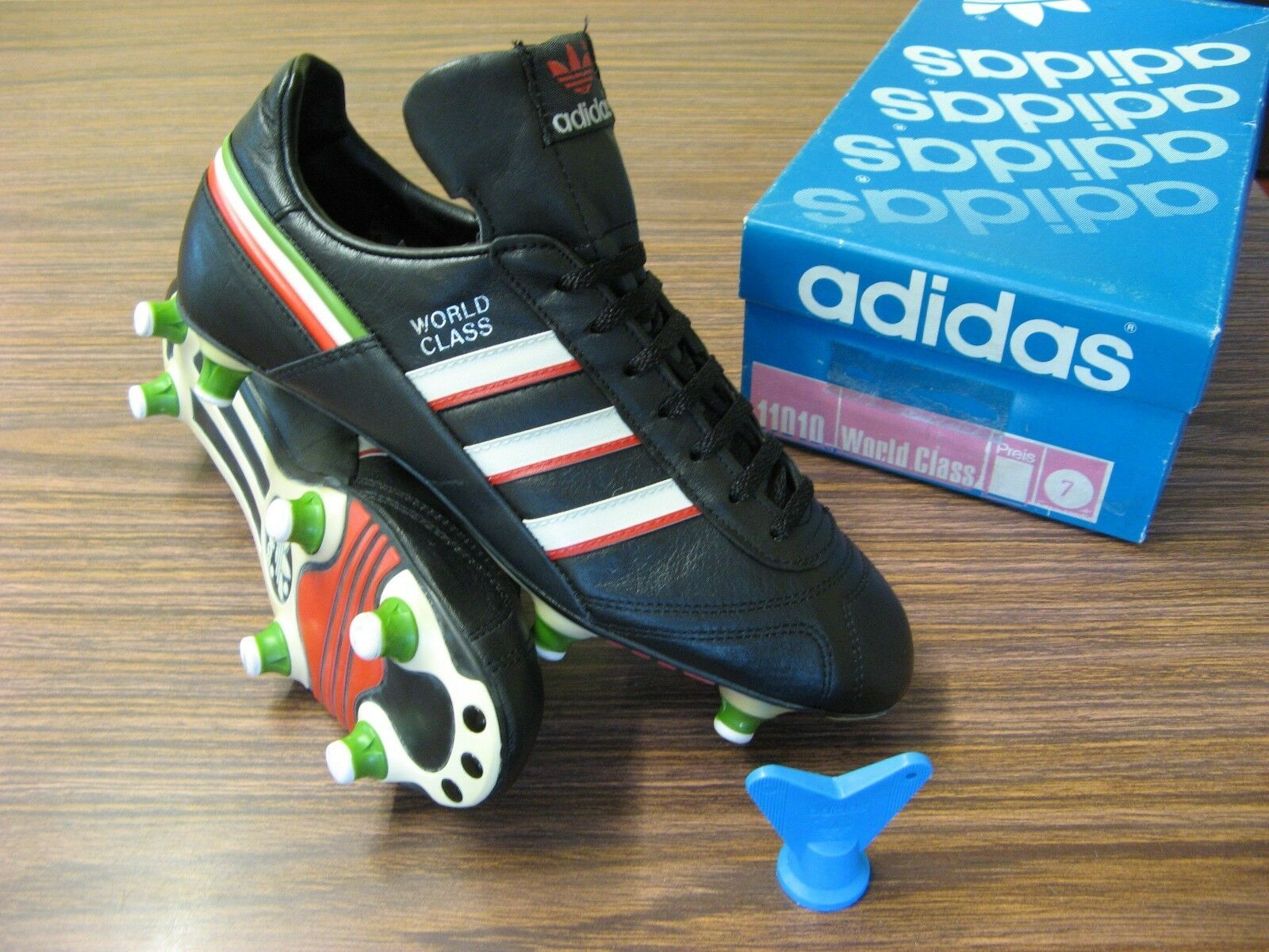 Vintage 1980 S Adidas World Class Football Boots Bnib Deadstock 1986 World Cup Ebay Football Boots Adidas Football