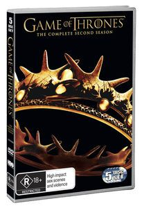Game of Thrones the complete second season [DVD]