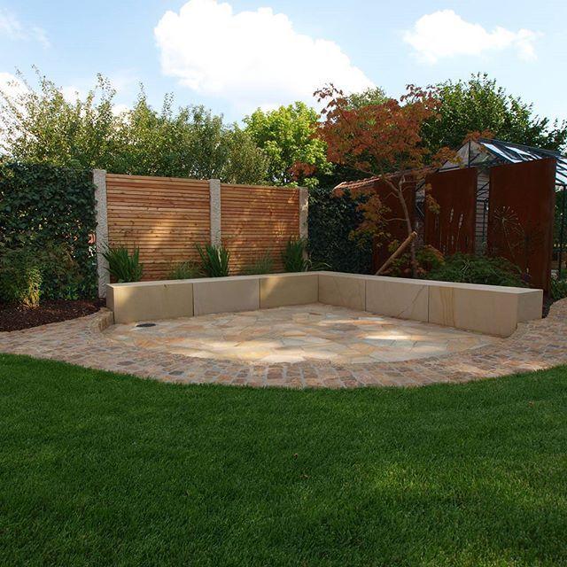 Baustelle Garten Bronder - #garten #gartengestaltung #galabau - garten sichtschutz stein