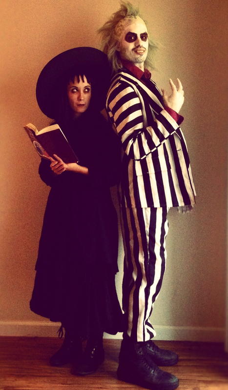 Couple Halloween Costumes Couple Halloween Costumes Beetlejuice Costume Funny Halloween Costumes