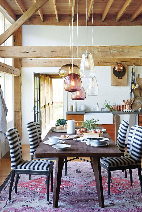 Slide View: 7: Grassland Stripe Dining Chair   Dining rooms ...