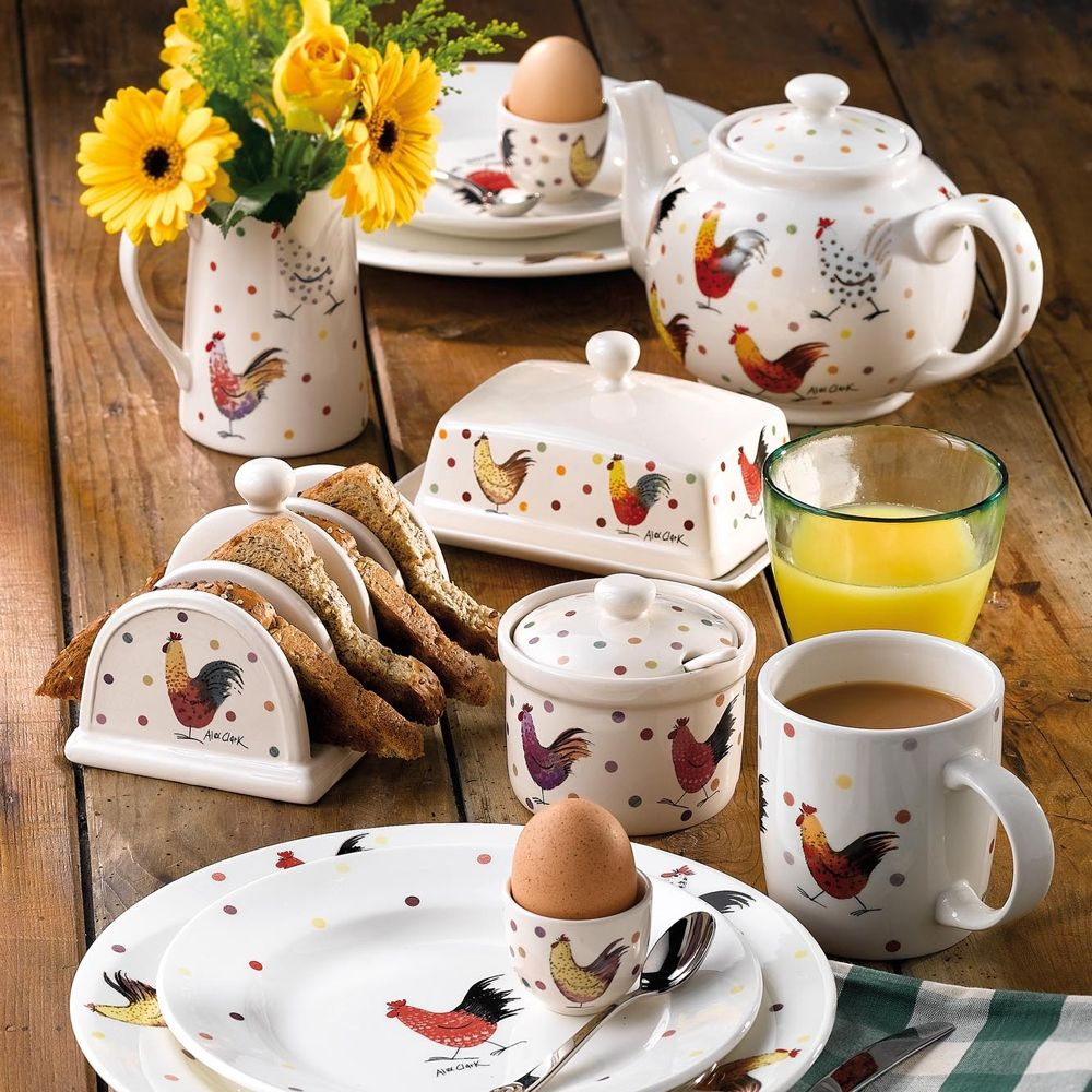 Alex Clark Rooster Dinner Plate & Alex Clark Rooster Dinner Plate | Dishes | Pinterest | Clarks and ...