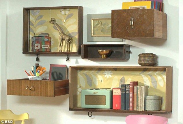 Kirstie Allsopp Gives Tips To Revamp Your Home On A Budget But Are Her Shelves Really Made Out Of Dusty Old Drawers