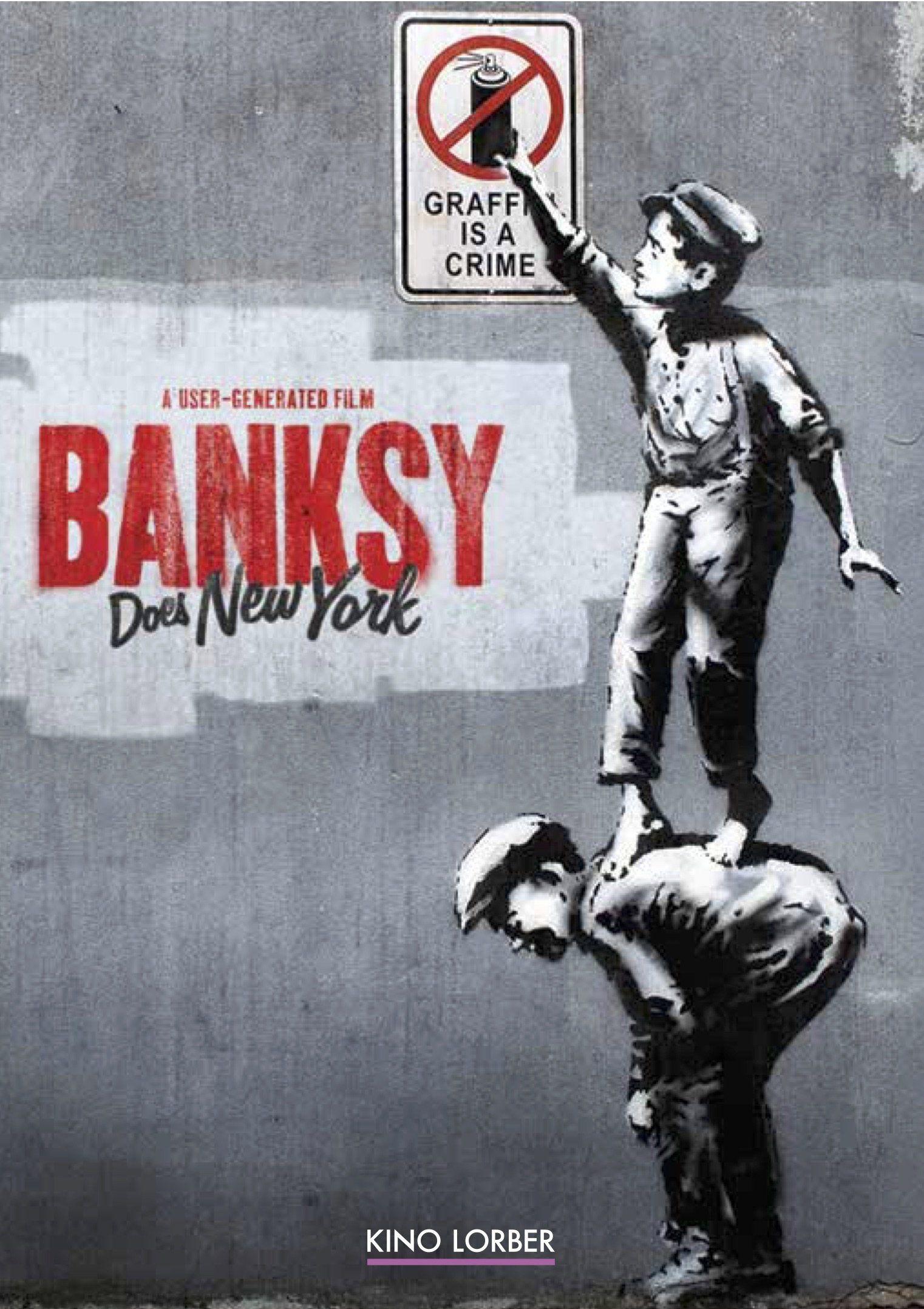 Banksy Does New York Banksy, Banksy new york, Street art