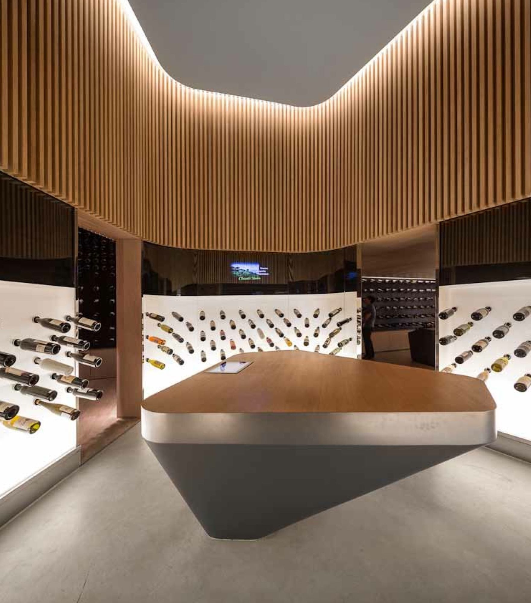 Mistral Wine Store Studio Arthur Casas Brazil