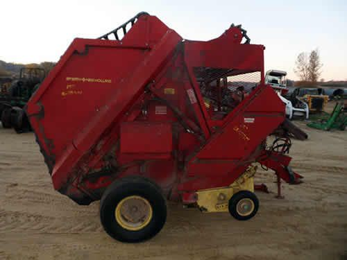 New Holland 851 baler dismantled for used parts. Call 877-530-4430 for parts or visit us online at http://www.TractorPartsASAP.com Thousands of salvaged tractors, vintage tractors, antique farm and ag equipment.