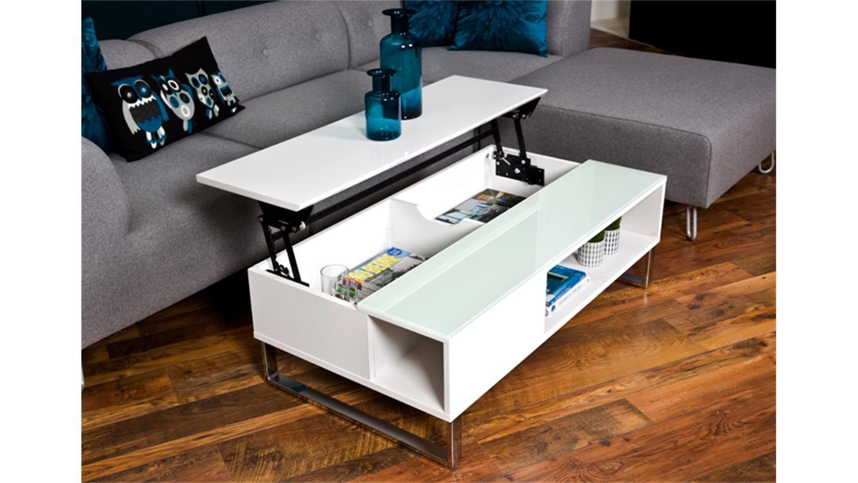 Couchtisch Azalea Hochglanz Weiss Lackiert Glas 110 Cm Coffee Table Upcycled Furniture Diy Furniture Design Modern