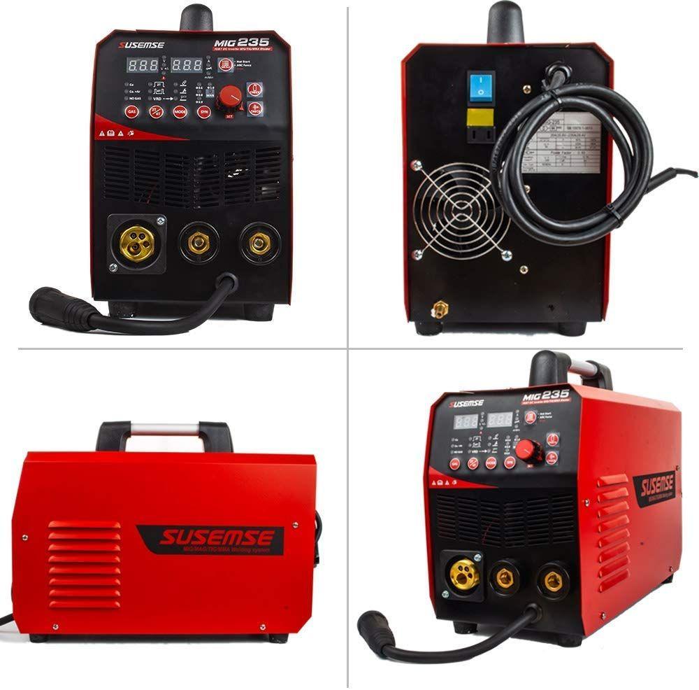 MIG Welder Inverter Flux Core Wire Gasless Auto Feed IGBT MIG Welding Machine DC