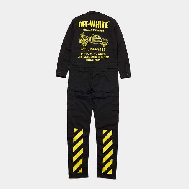 95e22b019745 OFF-WHITE x fragment design Parking Ginza Exclusive Jumpsuit