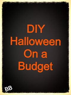 Busy Blondes: Halloween Decorating on a Budget