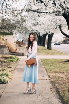 Spring Is in the Air | Outfit Inspiration on She's Intentional