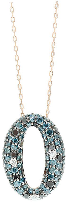 Suzy Levian Diamonds Suzy Levian 14K Rose Gold 1.94 Ct. Tw. Diamond Necklace