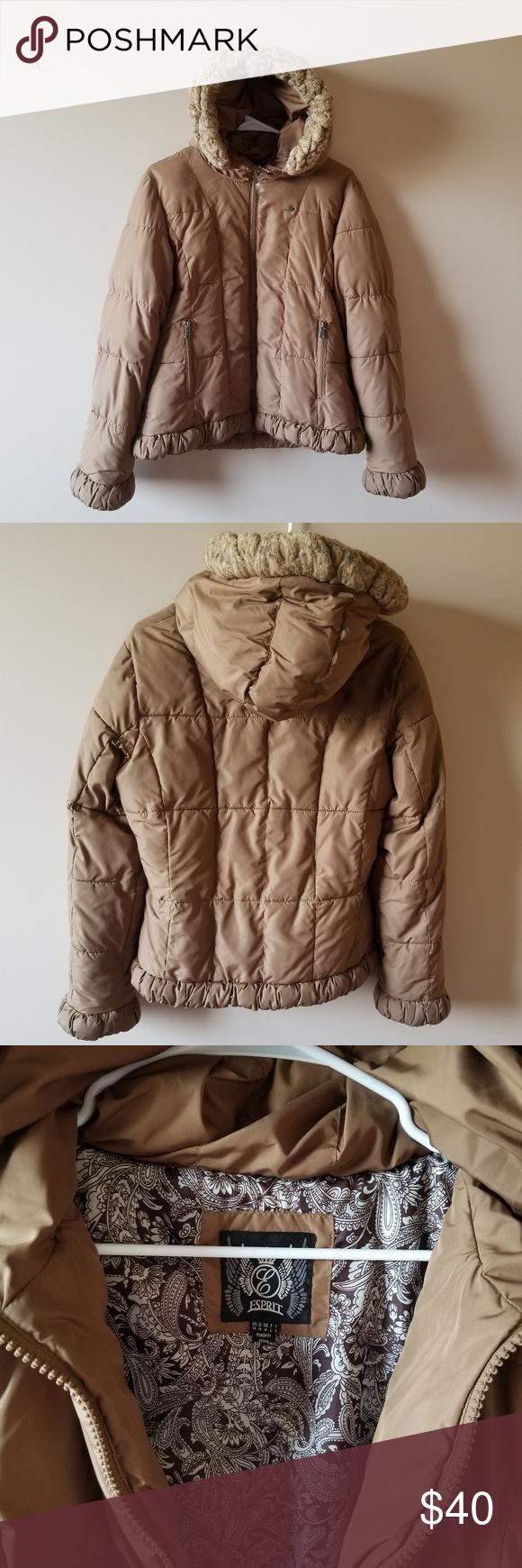Esprit Winter Jacket Winter Jackets Jackets Clothes Design [ 1740 x 580 Pixel ]