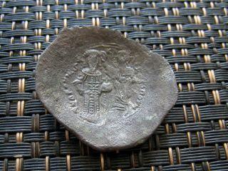 Byzantine Coin Manuel I Comnenus1143-1180 Ad Constantinople Billon Aspron Trachy Byzantine (300-1400 Ad) Coins: Ancient