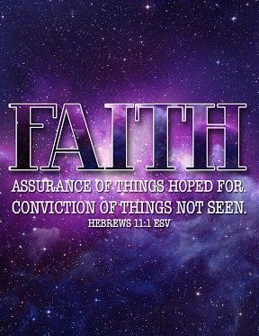 You have to have faith that everything will be ok!
