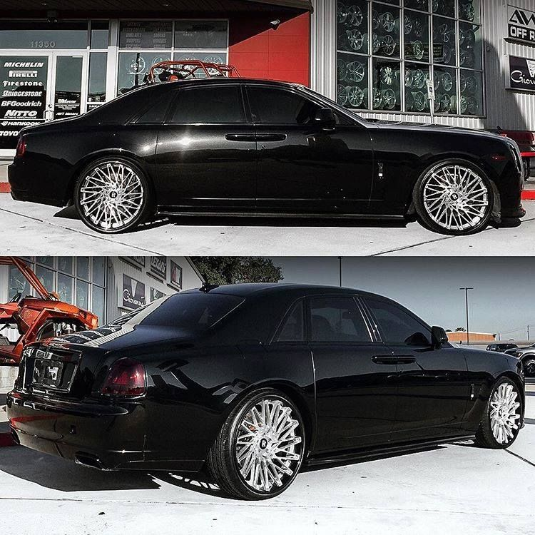 """Ghost on 24"""" Wheels by Houston's best! Wheels For"""