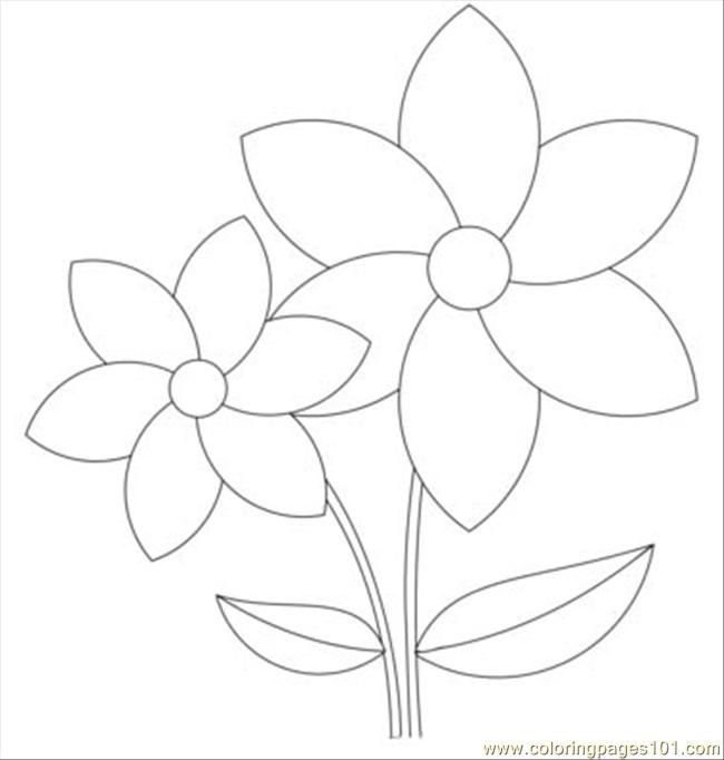 free printable coloring image Rose Windows 1 T line art 4 Flower