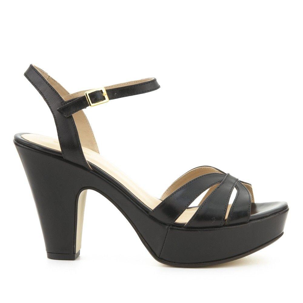 Y Enzapatos Shoessandals Mnn8w0 Tacon Piel Fosco Sandalia NnO8vw0m