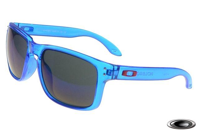 86fd00a814e cheap Oakley Holbrook Clear Blue Frame Purple Lens sale online
