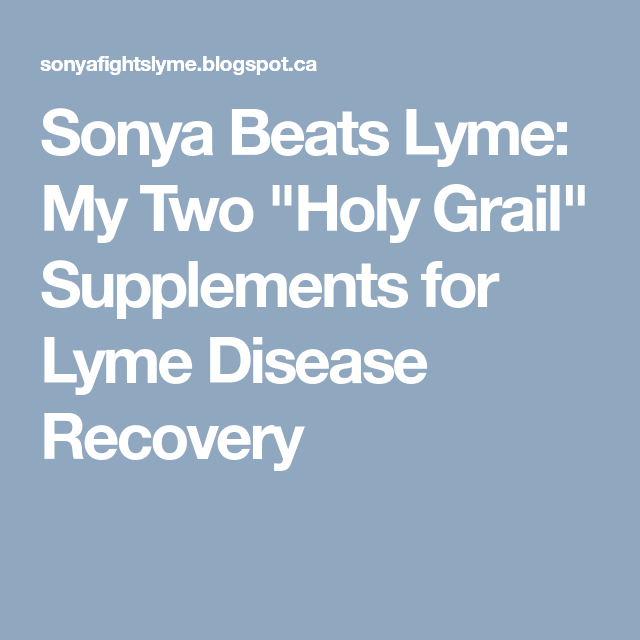Sonya Beats Lyme: My Two
