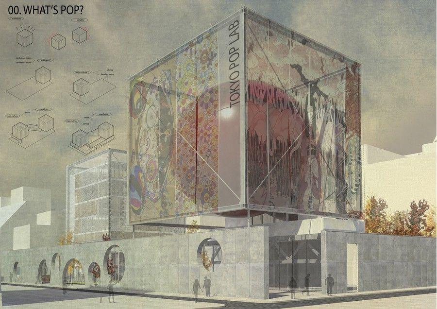 Tokyo Pop Lab architecture competition winner
