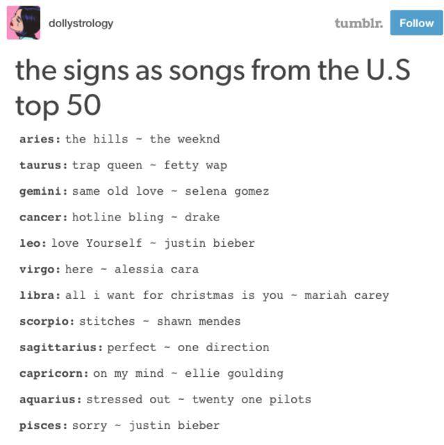 libra horoscope song