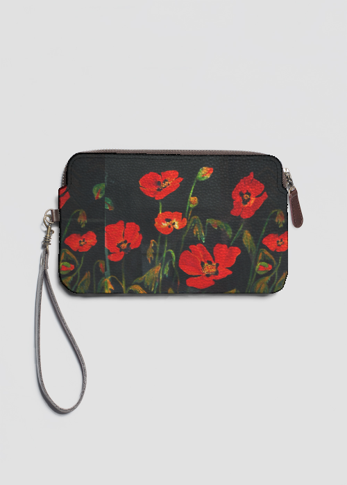 VIDA Statement Clutch - Field Flowers 2 by VIDA